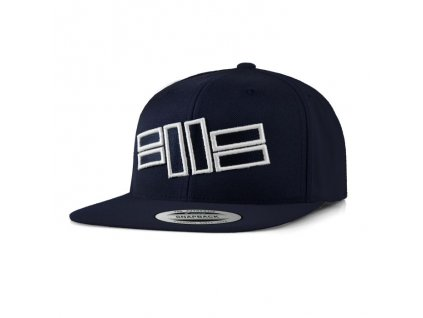 PitBull West Coast šiltovka FLAT LOGO FRONT dark navy