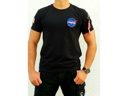 Alpha Industries NASA Heavy T tričko pánske black