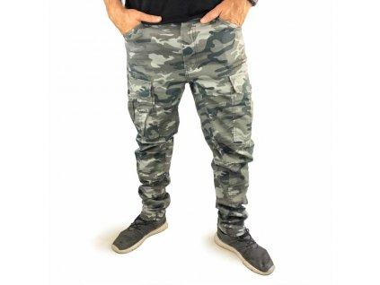 Yakuza pánske Cargo nohaviceROOKIE LITE CPB 12086 camouflage