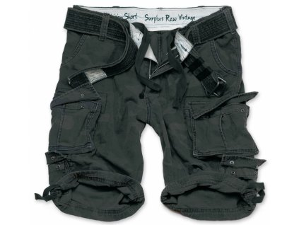 Surplus DIVISION SHORTS blackcamo pánske šortky