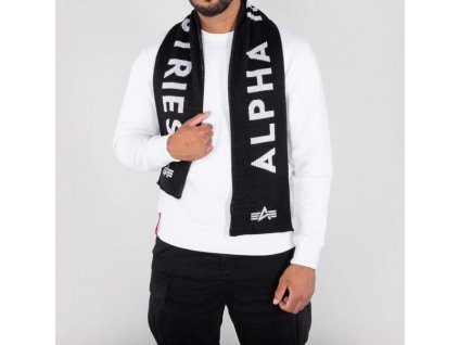 Alpha Industries šál Alpha Industries šál Alpha Industries Scarf black