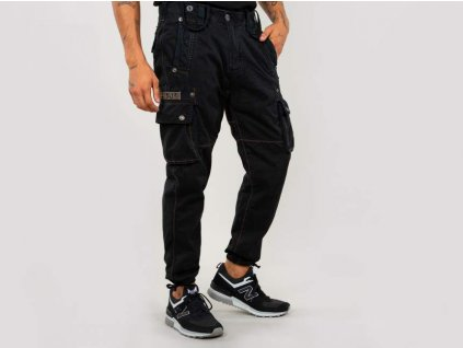 Alpha Industries nohavice Rugg Pant black A