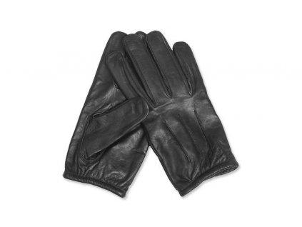 MILTEC kožené rukavice BLACK ARAMID GLOVES