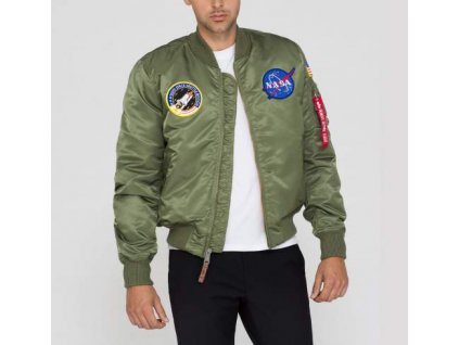 Alpha Industries MA-1 VF NASA bunda black