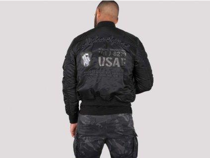 Alpha Industries MA-1 VF Custom zimná bunda black