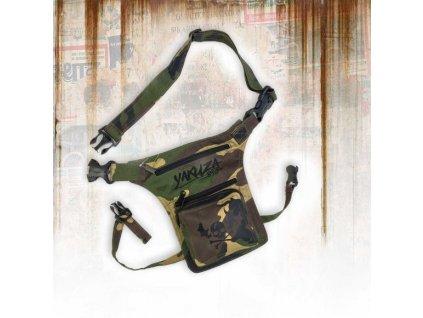 Yakuza taška cez plece ROOKIE HIP BAG GTB 13305 camouflage b
