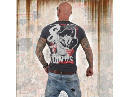 Yakuza tričko pánske JOIN USTSB 13041 ebony