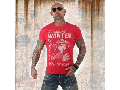 Yakuza tričko pánske PROFILETSB 13043 ribbon red