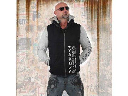 Yakuza zimná bunda LILI SKULlJACKET JB 13022 black