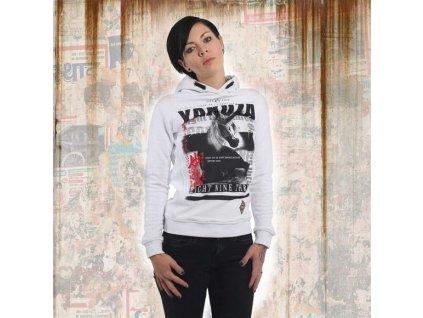 Yakuza dámska mikinaUNICORN FLEXGHOB 13104 white a