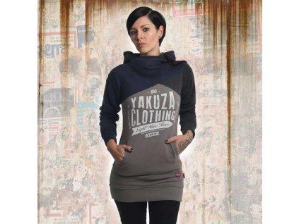 Yakuza dámska dlhá mikina ORIGINAL 3 FACE GLHOB 13106mood indigo