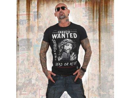 Yakuza PROFILE tričko pánske TSB 13043 black