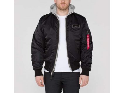 Alpha Industries zimná bunda MA-1 D-Tec black