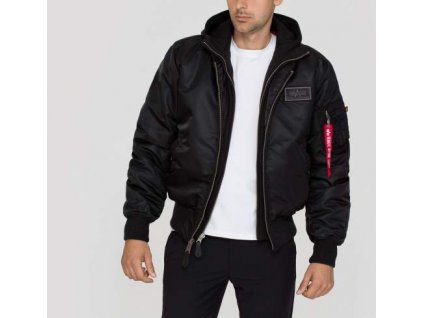 Alpha Industries zimná bunda MA-1 D-Tec black/black