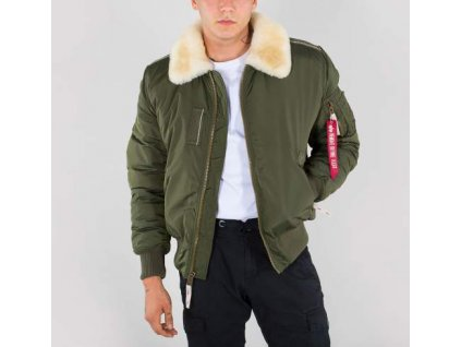 Alpha Industries Injector III zimná bunda dark green