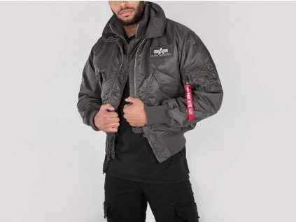 Alpha Industries zimná bunda X-Force rep grey