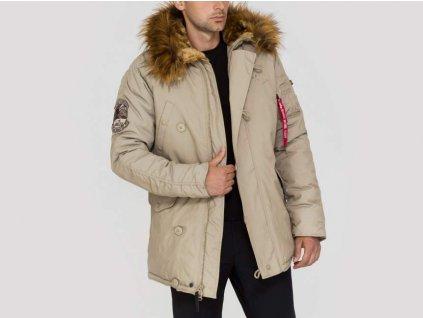 Alpha Industries zimná bunda Explorer khaki