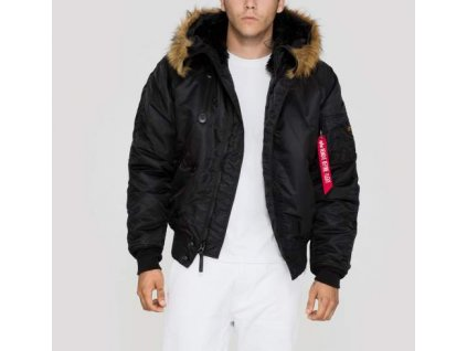 Alpha Industries zimná bunda N2B black