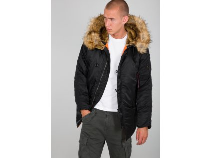 Alpha Industries zimná bunda N3B VF 59 black a