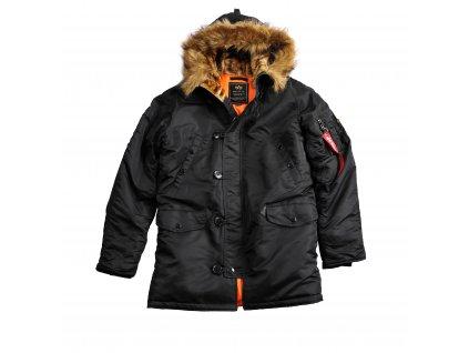 Alpha Industries zimná bunda N3B VF 59 black