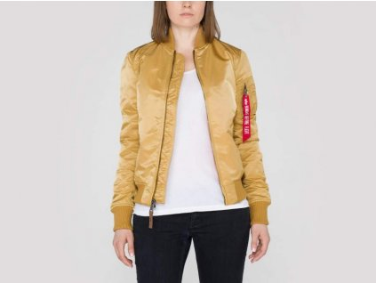 Alpha Industries MA-1 VF WMN dámska zimná bunda Gold