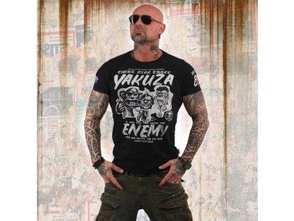 Yakuza ENEMY tričko pánske TSB 13027 black