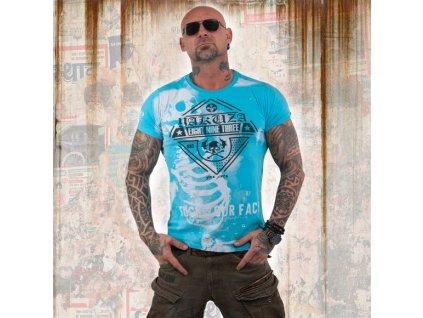 Yakuza XRAY tričko pánske TSB 13045 blue atoll