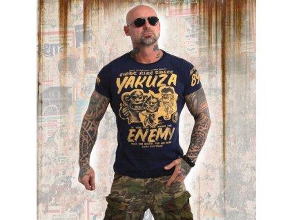 Yakuza ENEMY tričko pánske TSB 13027 mood indigo
