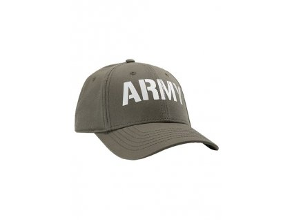 Alpha Industries ARMY CAP šiltovka Dark Green