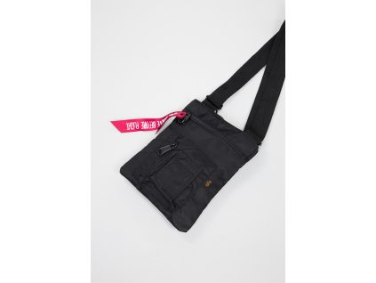 Alpha Industries Crew Messenger Bag taška na rameno black