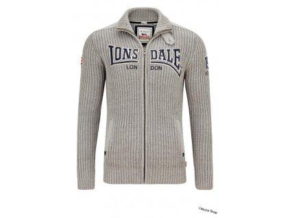 vyr 2695Lonsdale OARE Men Knitjacket pansky sveter
