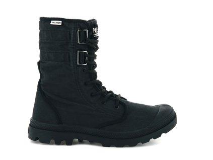 Palladium módne topánky BAGGY AT 2.0 BLACK