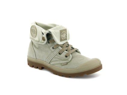 Palladium módne topánky WOMENS PALLABROUSSE BAGGY DK KHAKI PUTTY
