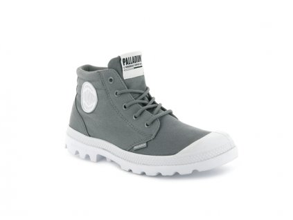 Palladium módne topánky BLANC LITE LOW CUFF TITANIUM