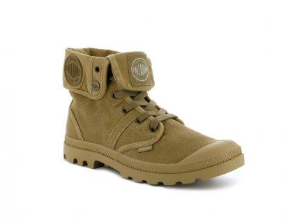 Palladium módne topánky PALLABROUSE BAGGY WOODLIN/HNY MSTRD