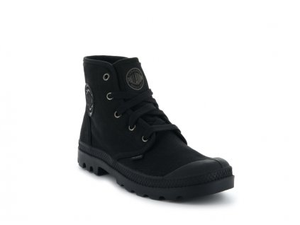 Palladium módne topánky PAMPA HI BLACK/BLACK
