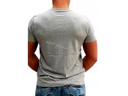 Alpha Industries RBF T grey tričko pánske