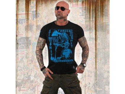 Yakuza INHALE tričko pánske TSB 13029 Black