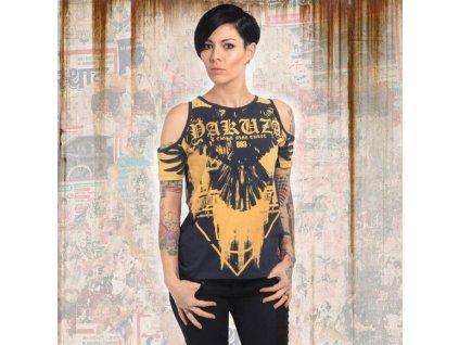 Yakuza RAVEN dámske tričkoGSB 13135 ebony