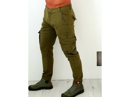 Alpha Industries nohavice Army Pant Olive