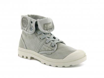 Palladium módne topánky PALLABROUSE BAGGY ALUMINIUM