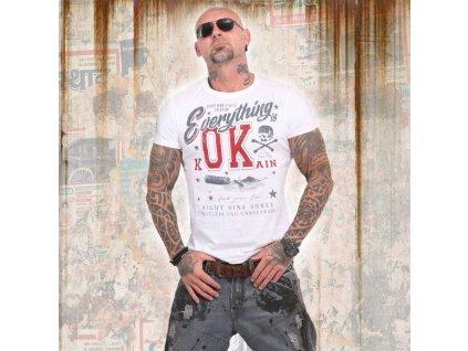Yakuza Everything OK tričko pánske TSB 14042 white