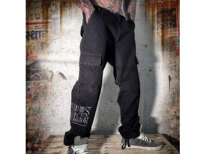 Yakuza Cargo Pants CPB 643 black