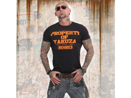 Yakuza PROPERTY tričko pánske TSB 14069 black