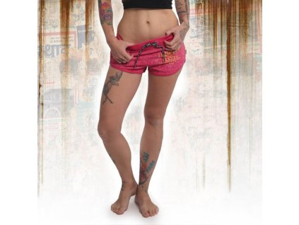 Yakuza dámske šortky CREST GSSB 14130 rose red