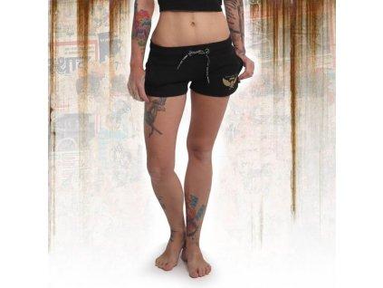 Yakuza dámske šortky EMB GSSB 14132 black