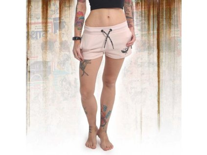 Yakuza dámske šortky EMB GSSB 14132 crystal pink