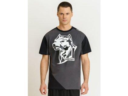 Amstaff tričko SMASH grey