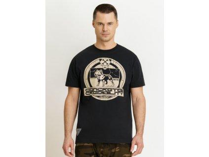 Amstaff tričko CONCRETE black
