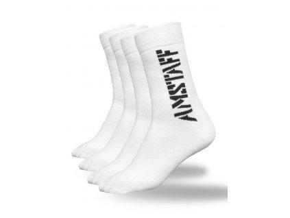 Amstaff ponožky 2 páry v balení white
